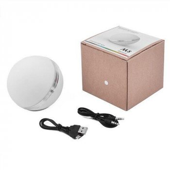 Бездротова Bluetooth колонка блютуз M8 матовий, speakerphone, куля портативна акустика