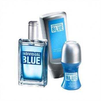 Парфюмерный набор мужской Avon Individual Blue