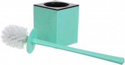 Ёршик для унитаза VANSTORE Куб TL2357BL синий