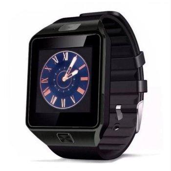Смарт-годинник UWatch Smart DZ09 Black з камерою + Bluetooth 3.0 / трекінг сну / фітнес-трекер / підтримка Sim-карти і карти пам'яті
