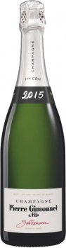 Шампанське Pierre Gimonnet & Fils Cuvee Gastronome Brut Premier Cru 2015 біле брют 0.75 л 12.5% (2150538505381)