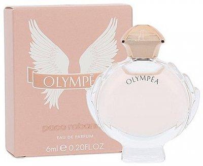 Жіноча парфумерія Парфумована вода (мініатюра) Paco Rabanne Olympea woman edp 6ml (3349668540402)