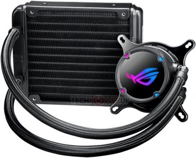 Система рідинного охолодження ASUS ROG Strix LC 120 Aura Sync (ROG-STRIX-LC-120)