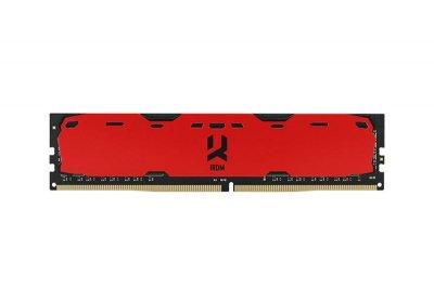 Модуль памяти DDR4 8GB/2400 GOODRAM Iridium Red (IR-R2400D464L15S/8G)