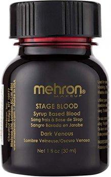 Кровь искусственная Mehron Blood Темная венозная 30 мл (152-D) (764294515335)