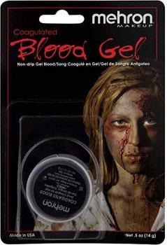 Кровь искусственная кровь Mehron Coagulated Blood Gel свернувшаяся 15 мл (151C) (764294515212)