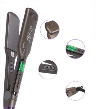 Утюжок для выпрямления волос Enzo EN-5444 с LED дисплеем и терморегулятором 55W (2_008403)