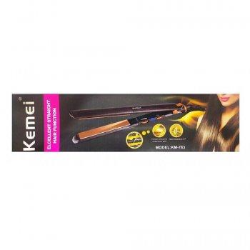 Утюжок для выпрямления волос KemeiKM-783 30W (2_007544)
