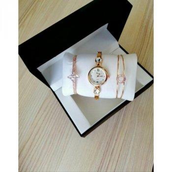 Женские наручные часы звезда с двумя браслетами Disu