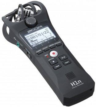 Диктофон цифровой Zoom H1n Black + Ветрозащита + Карта памяти 32 Гб
