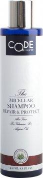 Мицеллярный шампунь Code of beauty Repair & Protect 250 мл (4752092126323)