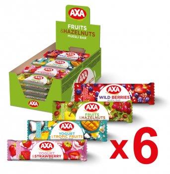 Набір батончиків AXA 23 г х 24 шт. (2000000000138)
