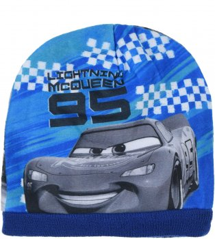 Демисезонная шапка Disney Cars HS4105 52 см Синяя (3609084034894)