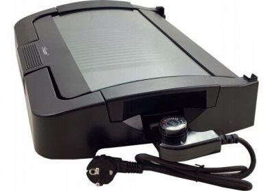Гриль-плита електрична 1500 Вт з литого алюмінію з антипригарним покриттям Maestro MR-718 з регулятором температури і не нагрівається ручкою