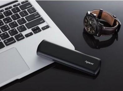 SSD-накопичувач Apacer USB 3.2 250GB (AP250GAS721B-1)