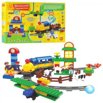 Конструктор Маленький паровозик M 0439 Limo Toy