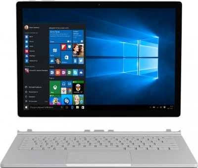 Ноутбук Microsoft Surface Book 2 (HMW-00001) Silver