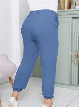 Штани G&M k-69671 колір синій джинс