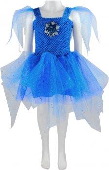 Платье Seta Decor Синильга 19-1037BL 110-128 см Синее (2000048656014)