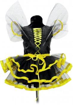 Платье Seta Decor Пчелка 16-1010-S 26-30 Желтое с черным (2000044357014)