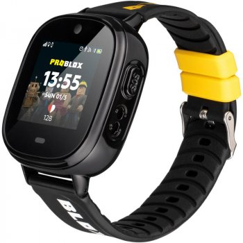 Дитячий годинник-телефон Gelius ProBlox GP-PK005 Black (2099900823688)