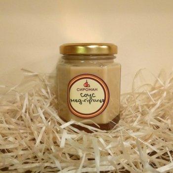 Соус Мёд-горчица СЫРОМАН 200 г