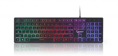 Клавиатура Gembird KB-UML-01-UA Black USB UKR