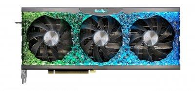 Видеокарта GF RTX 3080 10GB GDDR6X GameRock OC Palit (NED3080H19IA-1020G)