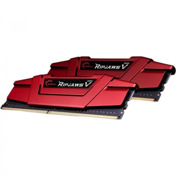 Модуль памяти DDR4 2x8GB/3600 G.Skill Ripjaws V Red (F4-3600C19D-16GVRB)