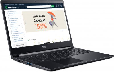 Ноутбук Acer Aspire 7 A715-75G-56AA (NH.Q99EU.009) Charcoal Black