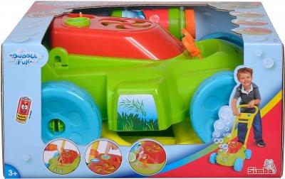Игровой набор для автоматического запуска мыльных пузырей Simba Toys Садовый помощник 120 мл (7286006)