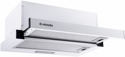 Вытяжка MINOLA HTL 5214 WH 700 LED