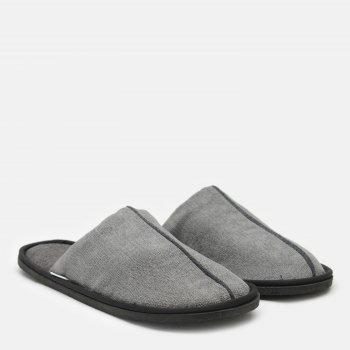 Комнатные тапочки FX shoes Портленд 19002 Серые