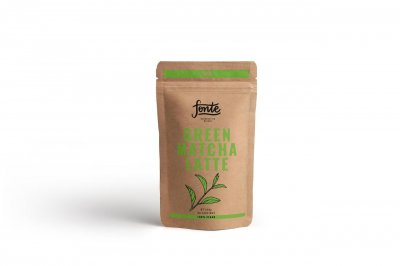 Суперфуд Fonte Green Matcha Latte 250 г Зелений Матчу Латте (F0001)