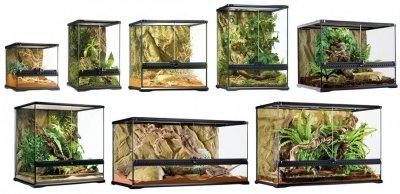 Террариум стеклянный Exo Terra Glass terrarium, 45х45х60 см