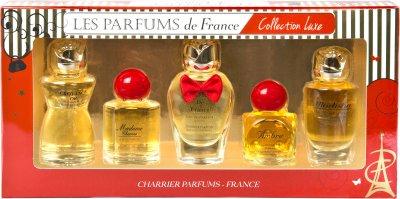 Набір мініатюр парфумерної води Charrier Parfums Collection Luxe (3442070549725)