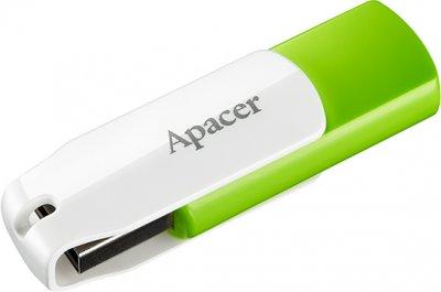 Apacer AH335 64GB USB Green/White (AP64GAH335G-1)