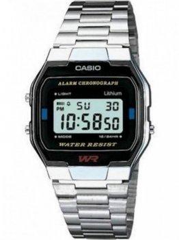 Чоловічі наручні годинники Casio A163WA-1QES