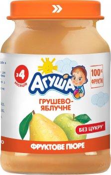 Упаковка пюре Агуша Грушево-яблучне з 4 місяців 8х190 г (4823063112116-8)