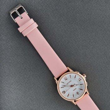 Классические Женские Часы Qulijia OL2-16 c Розовым ремешком