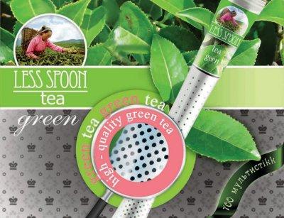 Чай зеленый LESS SPOON в стиках с перфорацией 100 шт