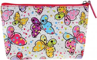 Косметичка Yes Weekend Butterfly 1 відділення Різнобарвна (532648)