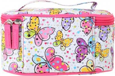 Косметичка Yes Weekend Butterflies 1 отделение Разноцветная (532646)
