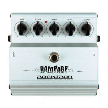 Гитарная педаль эффектов Rocktron Rampage Distortion