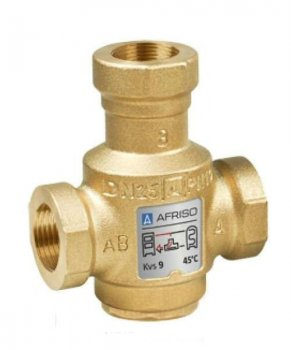 "3-ходовий термосмесітельний клапан Afriso ATV 556 Rp1 1/4"" 60°C"