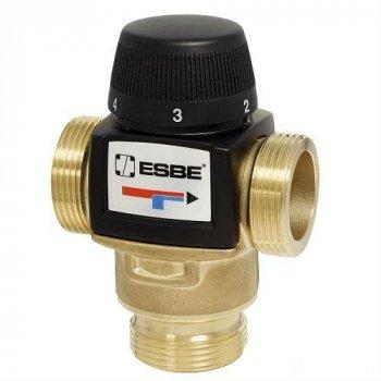 """Термосмесітельний клапан ESBE VTA572 G1 1/4"""", 20-55°C, 4.8 Kvs"""