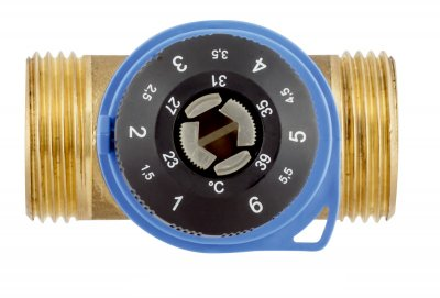 """3-ходовий термосмесітельний клапан Afriso ATM 361 G1"""" 20-43С"""