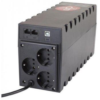 Джерело безперебійного живлення Powercom RPT-800AP (00210190)