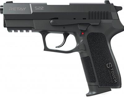 Пістолет стартовий Retay S22 9 мм Чорний (11950619)