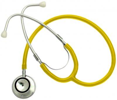 Стетоскоп LITTLE DOCTOR Prof-II (8887786300072_Yellow)